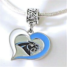 Carolina Panthers NFL Pendant Charm for European Charm Bracelet or Necklace's,
