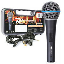 Power Dynamics 173.425 Handheld Microphone with Case & Cable