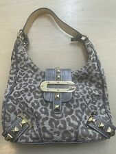 Leopard Print Shoulder Bag By Guess