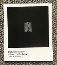 Rare 2004 Peter Saville Exhibition Manchester Urbis Flyer Joy Division Unknown