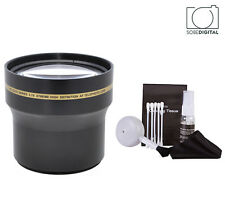 58MM Telephoto Zoom Lens FOR Canon EOS REBEL 300D 350D T3I T5I T4I HD4 OPTICS