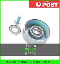 Fits NISSAN PATROL (GR) Y61 1997-2010 - Engine Belt Pulley Idler Bearing