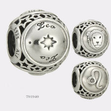 Authentic Pandora Sterling Silver Leo Star Sign Charm #791940