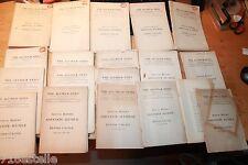 NORMAL HUNTER COLLEGE ANNUAL REPORTS 1909-1928 alumni news Anna Hunter signature