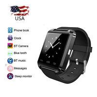 Bluetooth Smart Watch Wristwatch for Samsung Galaxy S7 Edge S8 Note 5 LG Huaswei