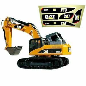 1 Set 336D Decal Sticker for Huina 580 1580 TR-211m 23 Channel RC Excavator 1/14