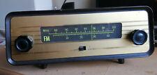 RARE COLLECTOR Vintage MBLE BBO 840 FM Tuner Tube Radio 1963. Philips Belgium