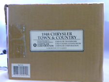 1948 CHRYSLER Town & County, New in box - sealed, model 5010C Green/wood/convert