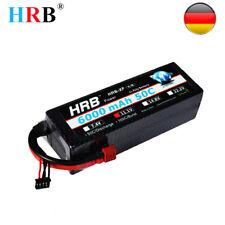 HRB 3S 11,1V 6000mah 12V 50C Lipo Batterie Akku HardCase für RC Traxxas Boot DE