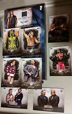 2016 Topps WWE Undisputed BARON CORBIN Auto AutographCARD BRET HART RHODES SP