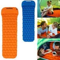 Aufblasbar Camping Matratze Matte Isomatte Wandern Aufrollbar Bett Matte Outdoor