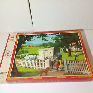 "Milton Bradley ""Good Old Days -A Childhood Treat"" 500 Piece Puzzle Sealed 1970"