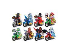 Minifigures Ninjago Toys Ninja Cole JAY Lloyd Motorcycle  Set 8