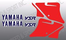 YAMAHA 1987 1988 1989 87 88 89 YSR50 YSR 50 LOWER FAIRING GRAPHICS LIKE NOS