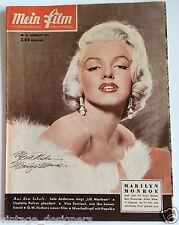 Marilyn Monroe 1956 Mein Film Magazine Rare Austrian Frank Powolny Sexy cover
