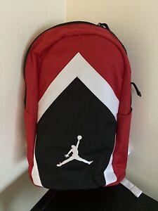 NWT Nike Jordan Diamond Jumpman Backpack Laptop 9A0262 Red/Black/White