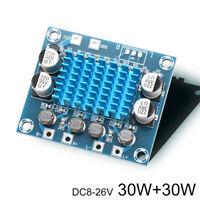 30W+30W DC8-26V Dual Channel Stereo High Power Amplifier Board BR