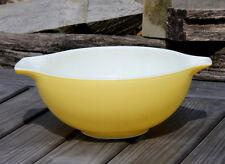 Vintage Pyrex #443 Sunshine Yellow Cinderella Nesting Mixing Bowl 2.5 Qt