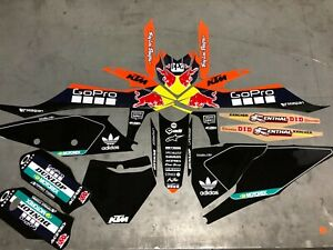Ktm 125 250 350 450 SX SXF Graphics kit  Fits Years 2019 - 2020