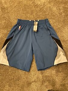 Adidas Authentic Minnesota Timberwolves NBA ClimaCool Rev30 Shorts Medium +2 New