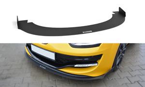 CUP Spoilerlippe für Renault Megane 3 III RS Bj. 10-15 Lippe Frontspoiler ABS