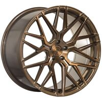 "20"" ROHANA RFX10 BRUSHED BRONZE CONCAVE RIMS FOR CADILLAC CTS SEDAN COUPE"