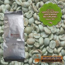 Caffè Verde Arabica Biologico in grani Santos Santa Maria BIO Organic - 1 Kg