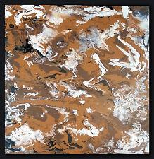 """THOMAS VISALIUS: """" Pause café"""" Original Tableau Acrylique sur la toile 60x60cm"""