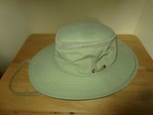 Tilley  Le Chapeau Tilley The Airflo Hat Light Pale Green Size 7 1/8