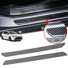 For Toyota Camry Carbon Fiber Door Plate Scuff Sill Anti Scratch Protect Sticker