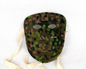 Replica WW2 German Elite Camo Face Mask DOT 44 Color