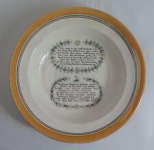 19th Century Sunderland lustre creamware bowl, by Scott, Sunderland c1820
