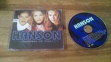 CD Pop Hanson - Thinking Of You (1 Song) Promo MERCURY sc