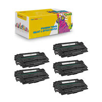 Q7516A 5-Pack Compatible Black Toner Cartridge For HP LaserJet 5200DTN 5200DTN