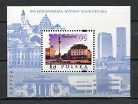 36126) Poland 1995 MNH Warsaw Castle S/S Scott #3257