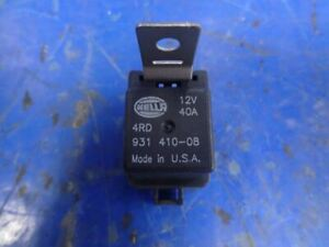 LOT OF (4) 12V 40A Relay with Bracket Hella 410-08