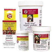Gimborn Kwik Stop Styptic Powder Dog Cat Bird Ferret Pedicure Nail Health