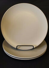 "Set of (3) IKEA OF SWEDEN Pale Gray/Beige Stoneware Dinner Plates - 10"" - 120 11"