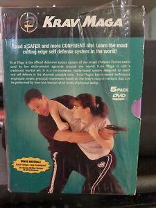 Krav Maga 5-Volume Set (DVD, 2004, 5-Disc Set) Learn Self Defense