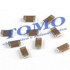 Lotto di 10 x condensatore SMD multistrato 0805 da 22pF 50V