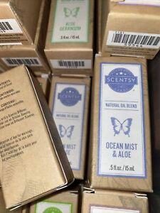 Scentsy Natural Oil Blend OCEAN MIST & ALOE🌿 Essential Oils for Diffuser .5oz