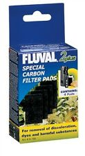 Fluval 2+ Plus Carbon Filter Pads Genuine Product Pack of 4 X3