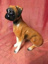 Large DROP EARRED Dock Tail Sitting BOXER DOG Fig Holland No.d 138