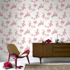 Sale Special Boutique Mercutio Floral Red Wallpaper (Was £23)