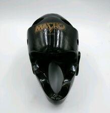 Macho Martial Arts Black Helmet Sparring Protective Head Gear Training Sparring