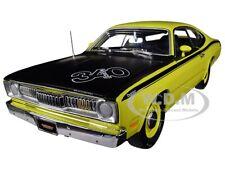 1971 PLYMOUTH DUSTER 340 GREEN LTD 1002 PCS 1/18 DIECAST CAR AUTOWORLD AMM1154