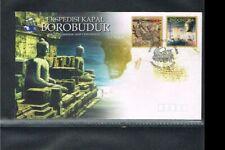 [ZQ010] 2005 - Indonesia FDC 09/2005 - Expeditions - The Borobudur ship expediti