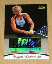 2010 Ace Tennis Urszula Radwanska autograph /85