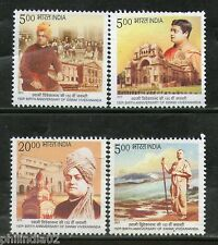 India 2013 Swami Vivekananda Kanyakumari Belur Math Kali Temple Birth Place MNH