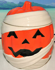 Bath & Body Works Slatkin & Co Pumpkin Mummy candle holder  Free shipping